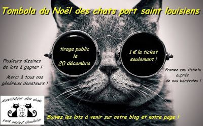 Tombola du Noël des chats port saint louisiens