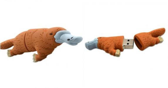 Une clef USB ornithorynque