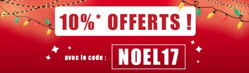Promotion Noël Animaute 2017